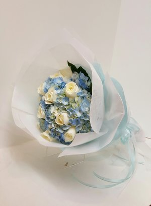 Blue and Cream (WB-6)