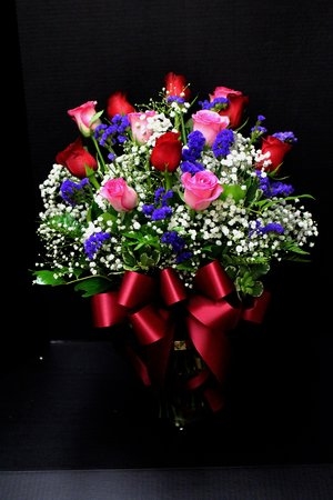 Pink & Red Roses (TVB-47)