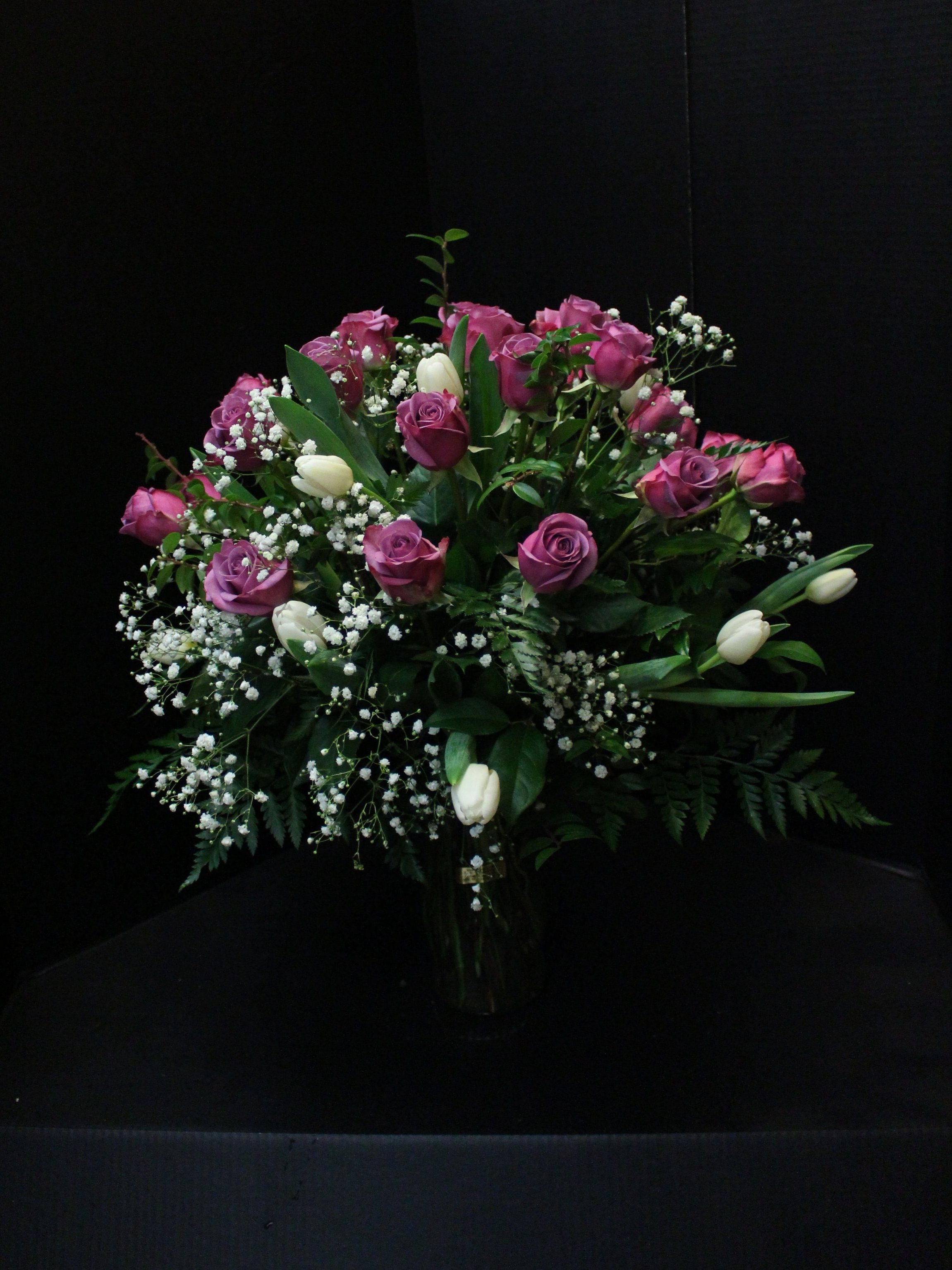 Lavender Rose Bouquet (TVB-76)
