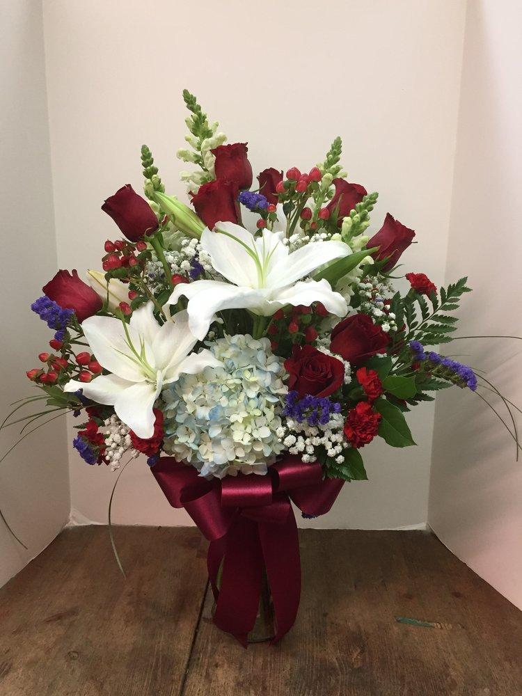 Red Roses & Blue (TVB-33)