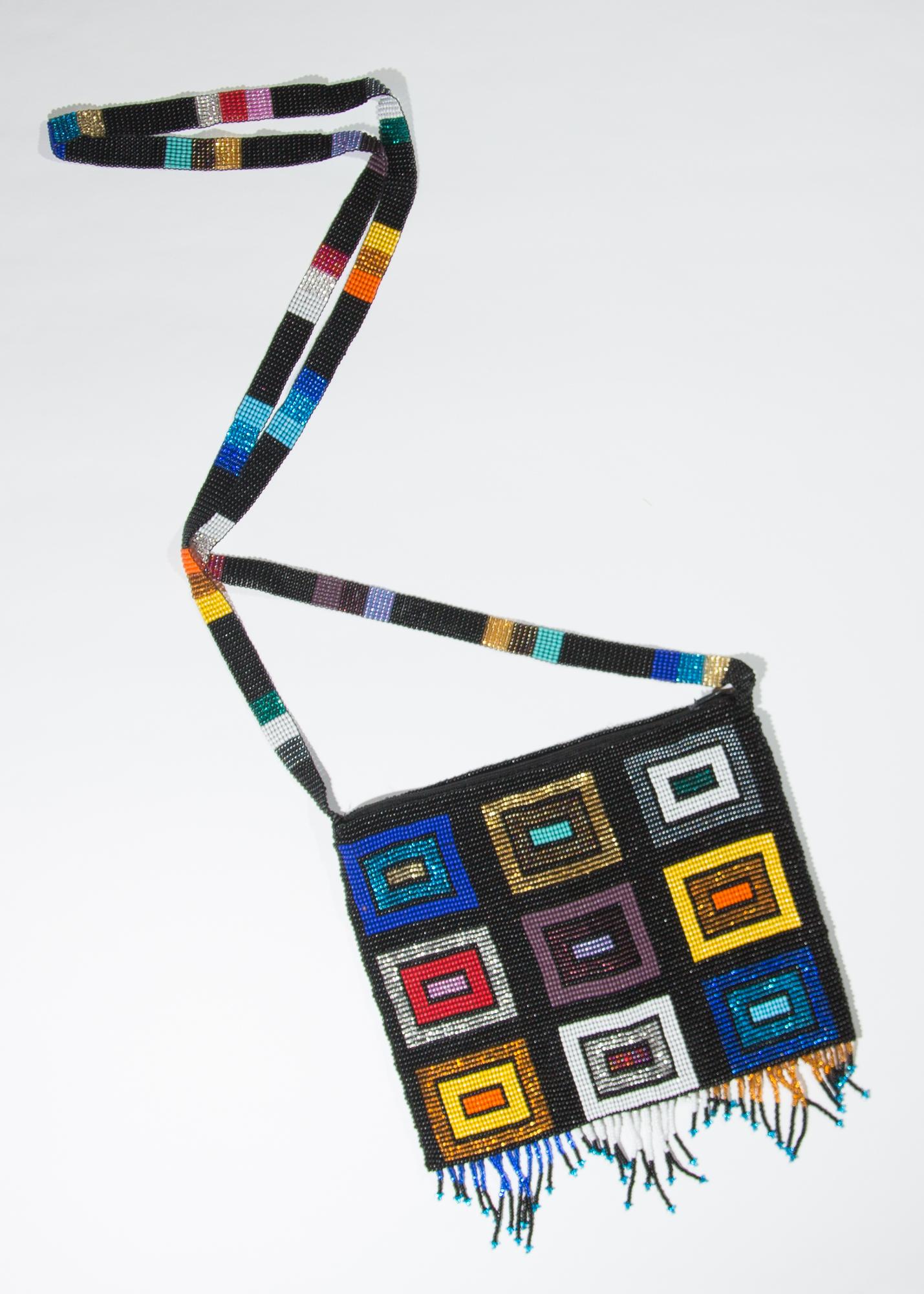 Multi-Colored blocks purse  $49.00