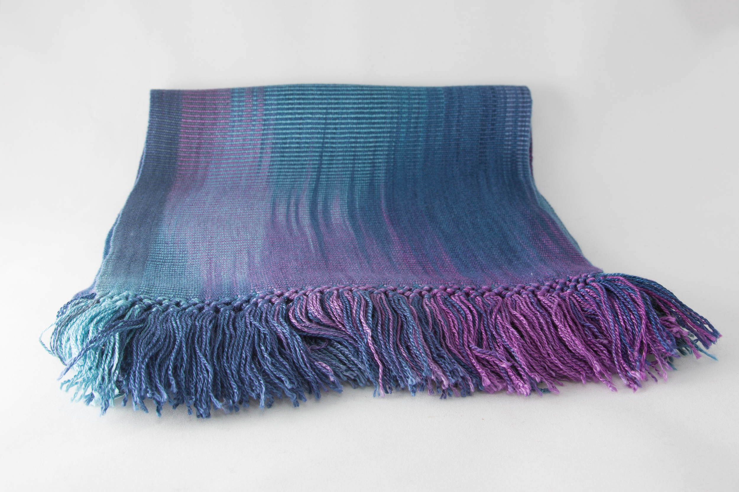 Blue & Purple Scarf   $39.00