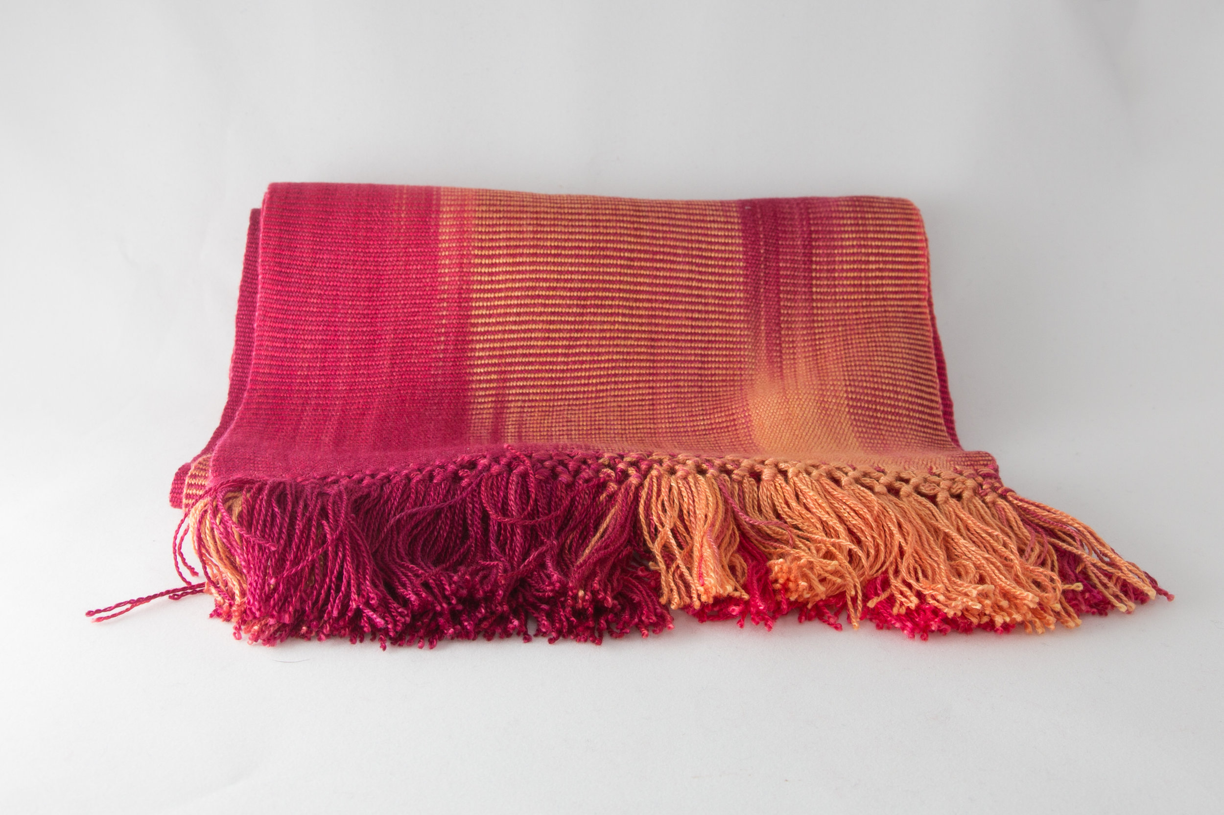 Red & Copper Scarf     $39.00
