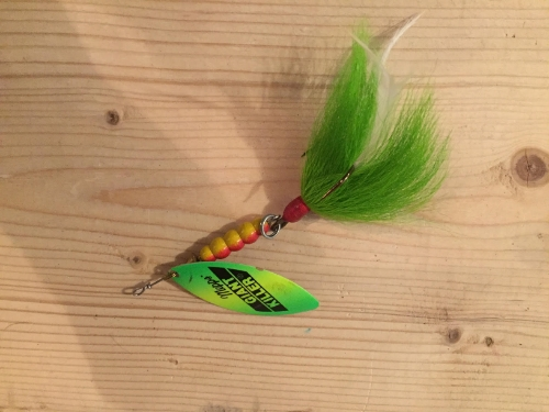 Small spinners catch big 'skies in the spring