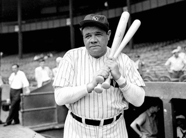 Babe Ruth. (Photo Credit: Nydailynews.com)