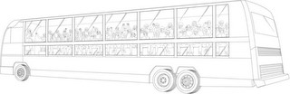 Trade dress protection on buses