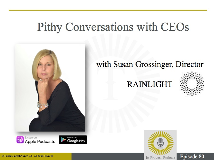 Susan Grossinger and Rainlight