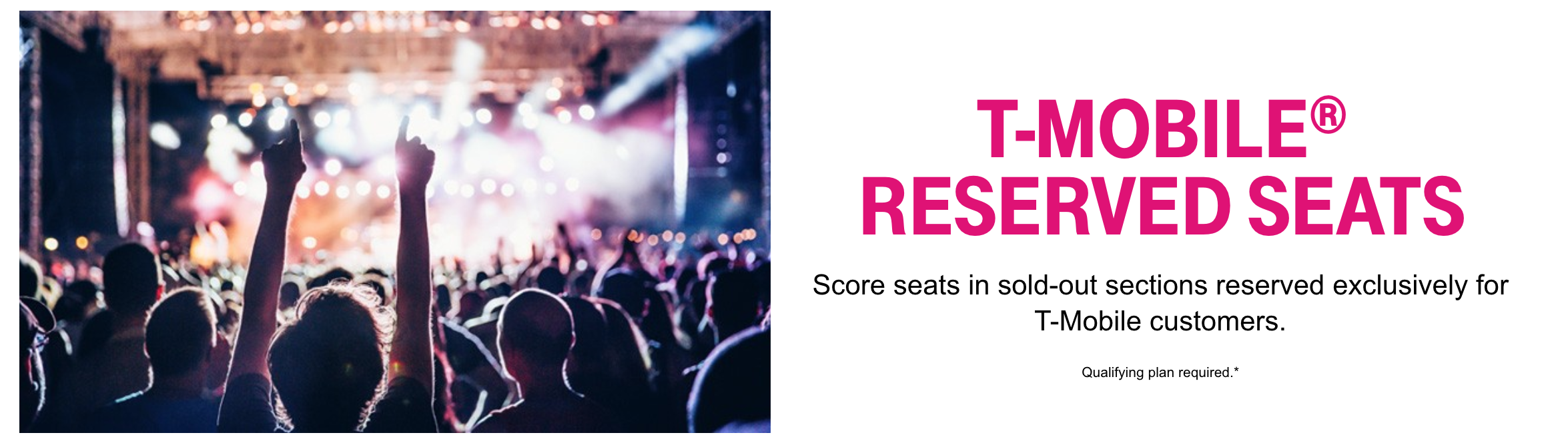 T-Mobile Tuesdays: Live Nation Reserved Seats — Amy Tang