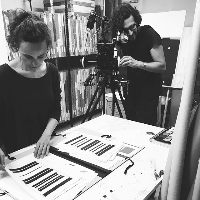 A snap behind the interview between @hffanewyork and artist Waldo Balart that we had the privilege to capture back in 2017. – A short documentary film directed by @montenegrolafont and proudly produced by @2382co . . . #2382co #production #film #documentary #art #interview #waldobalart #henriquefaria #nyc #madrid #cuba #montenegrolafont