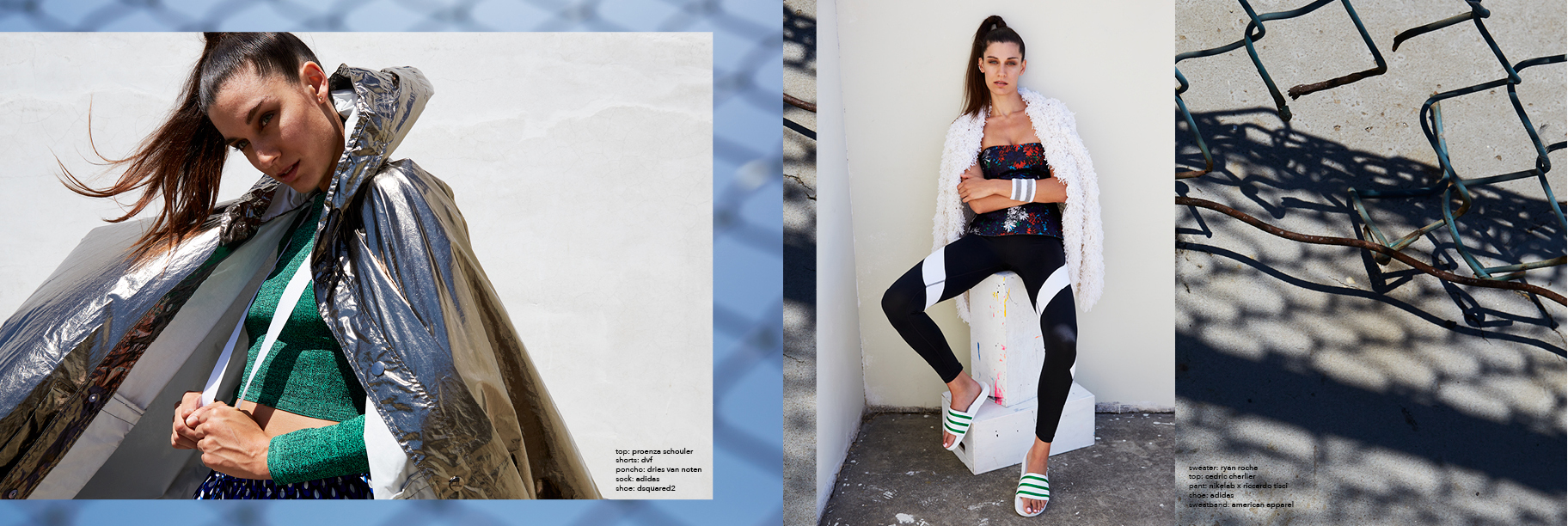 'COURTSIDE' FOR INSTITUTE MAGAZINE | STYLING + ART DIRECTION