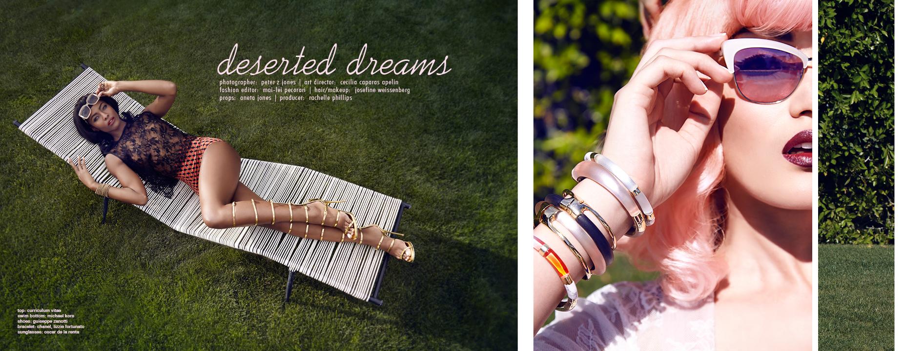'DESERT DREAMS' | JUTE MAGAZINE