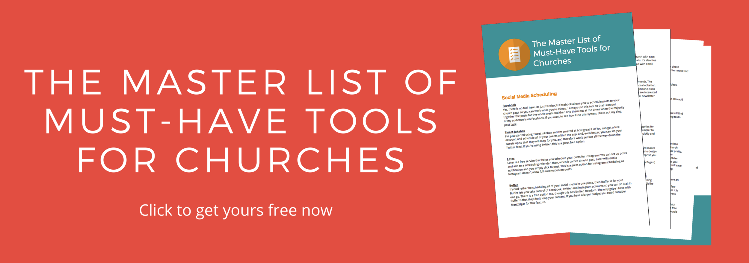 Must-Have tools for you church