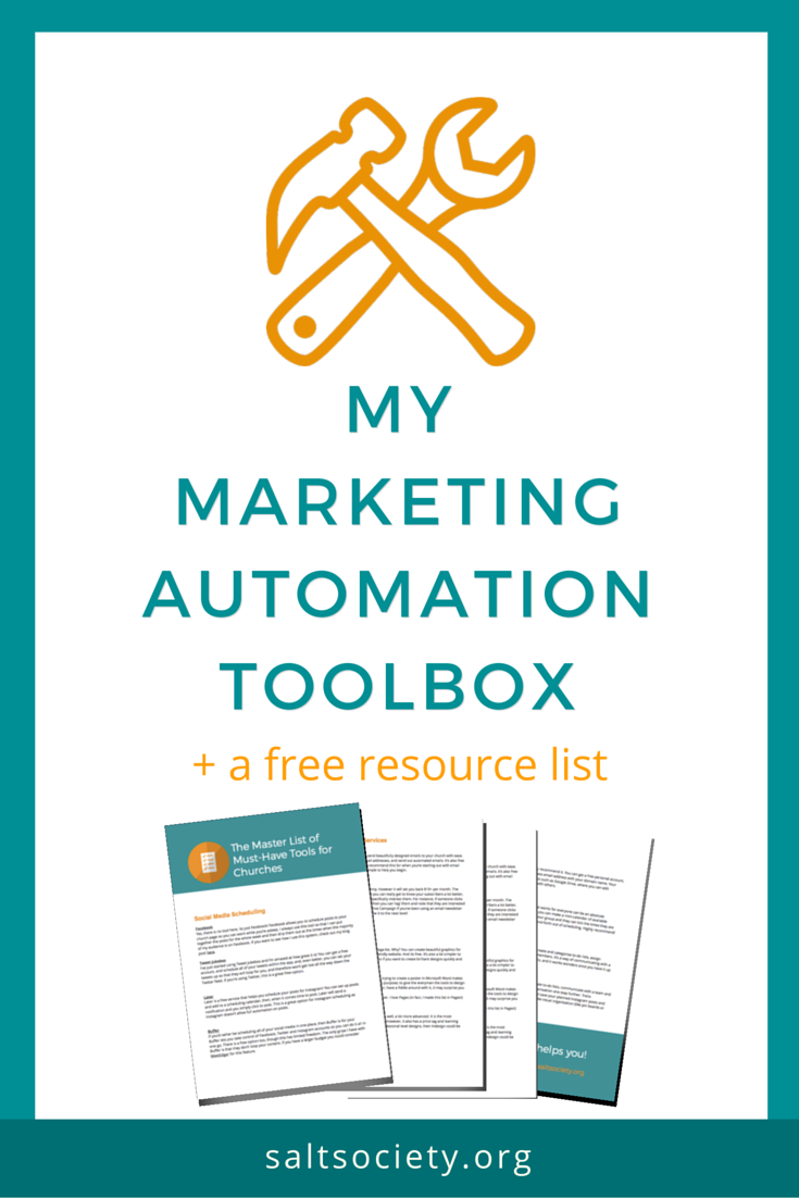 My Marketing Automation Toolbox (with tools that are totally free!)