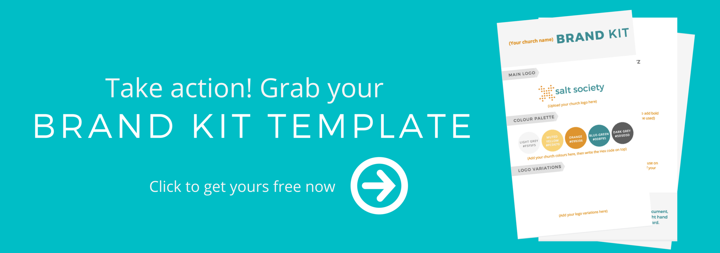 Church brand kit template opt in