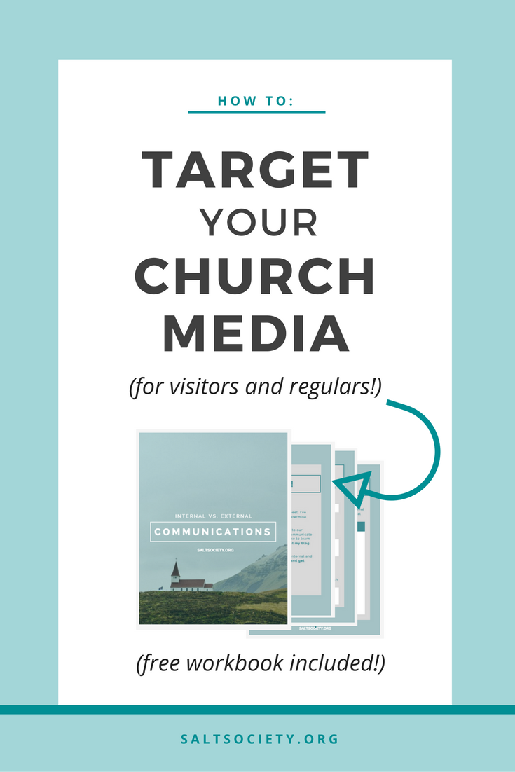 How to: Target your church media (for visitors, newcomers, and regulars!)