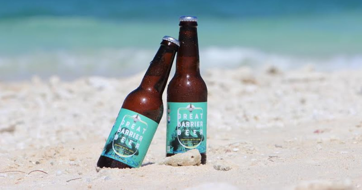 Or have a refreshing Great Barrier Beer