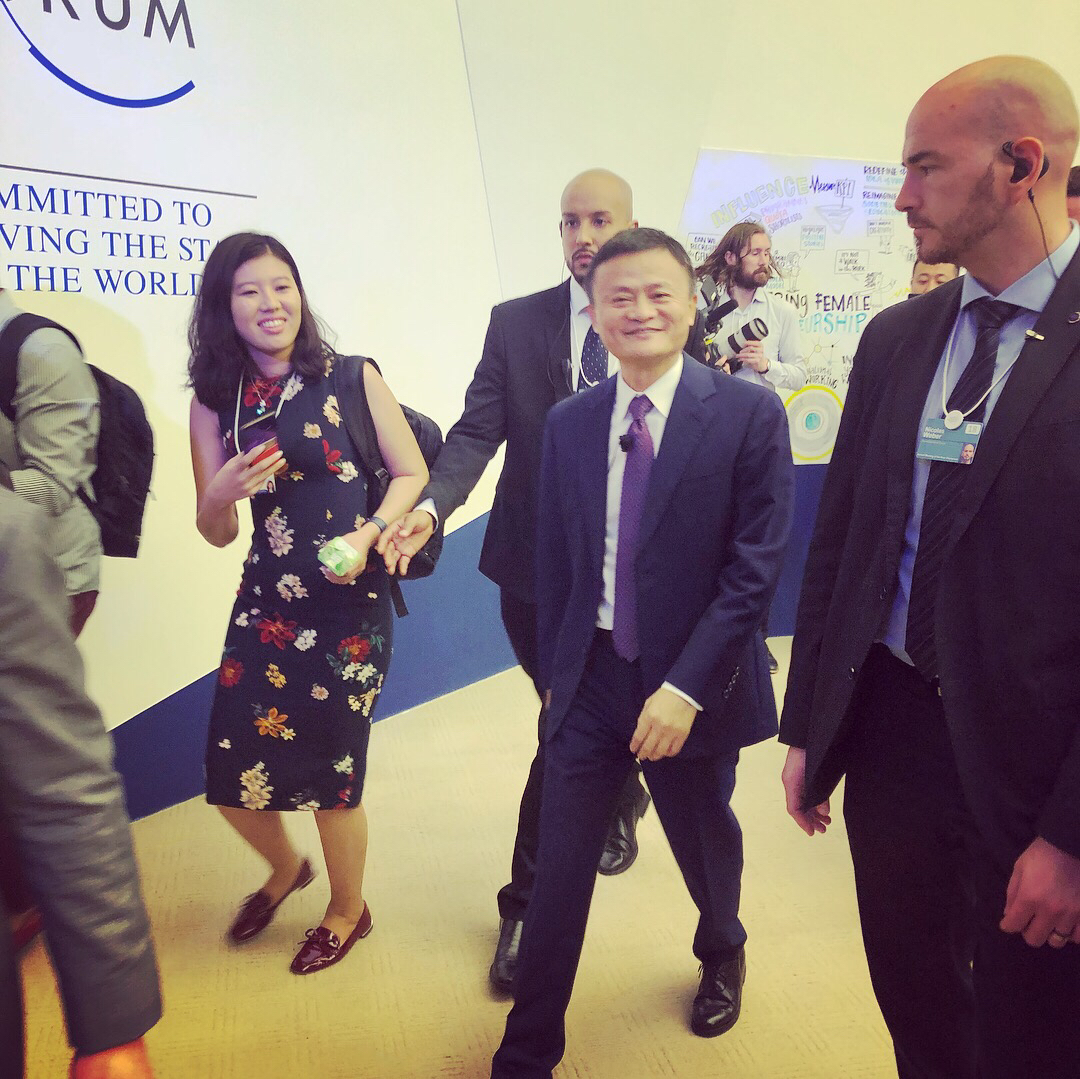 Global Shapers are given the opportunity to meet world leaders like Jack Ma
