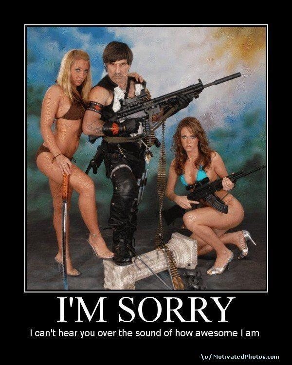 """I wish this caption could be another picture saying """"sorry, not sorry"""""""