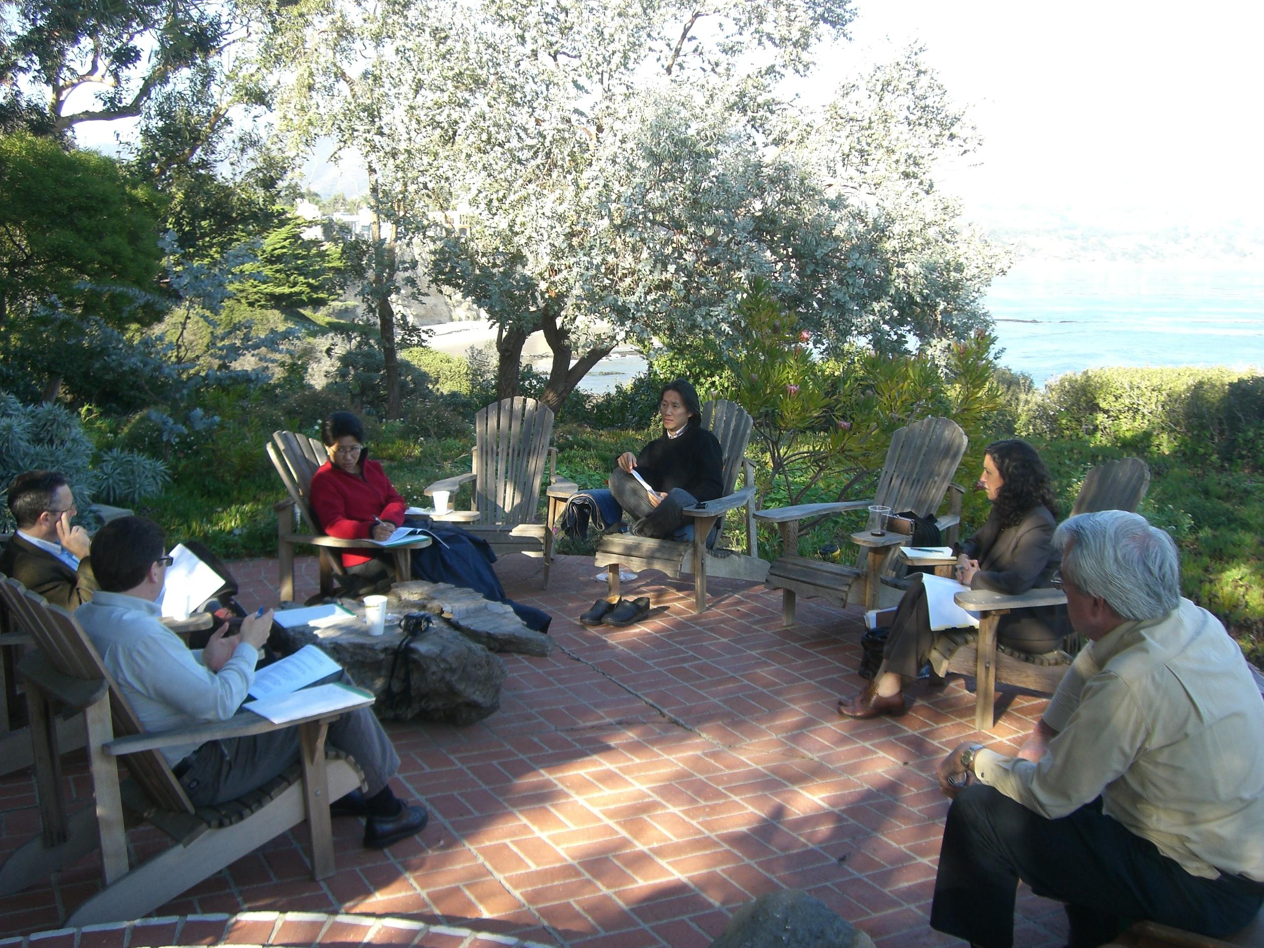 Khmer Arts Board Retreat with Directors & Rachel Weintraub in Los Angeles, California