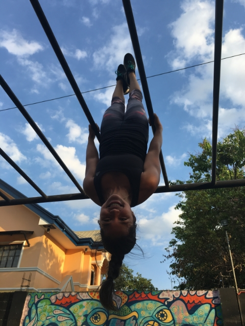 Staying true to a life upside down.