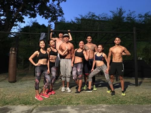 Flex zone! Muscles that work!