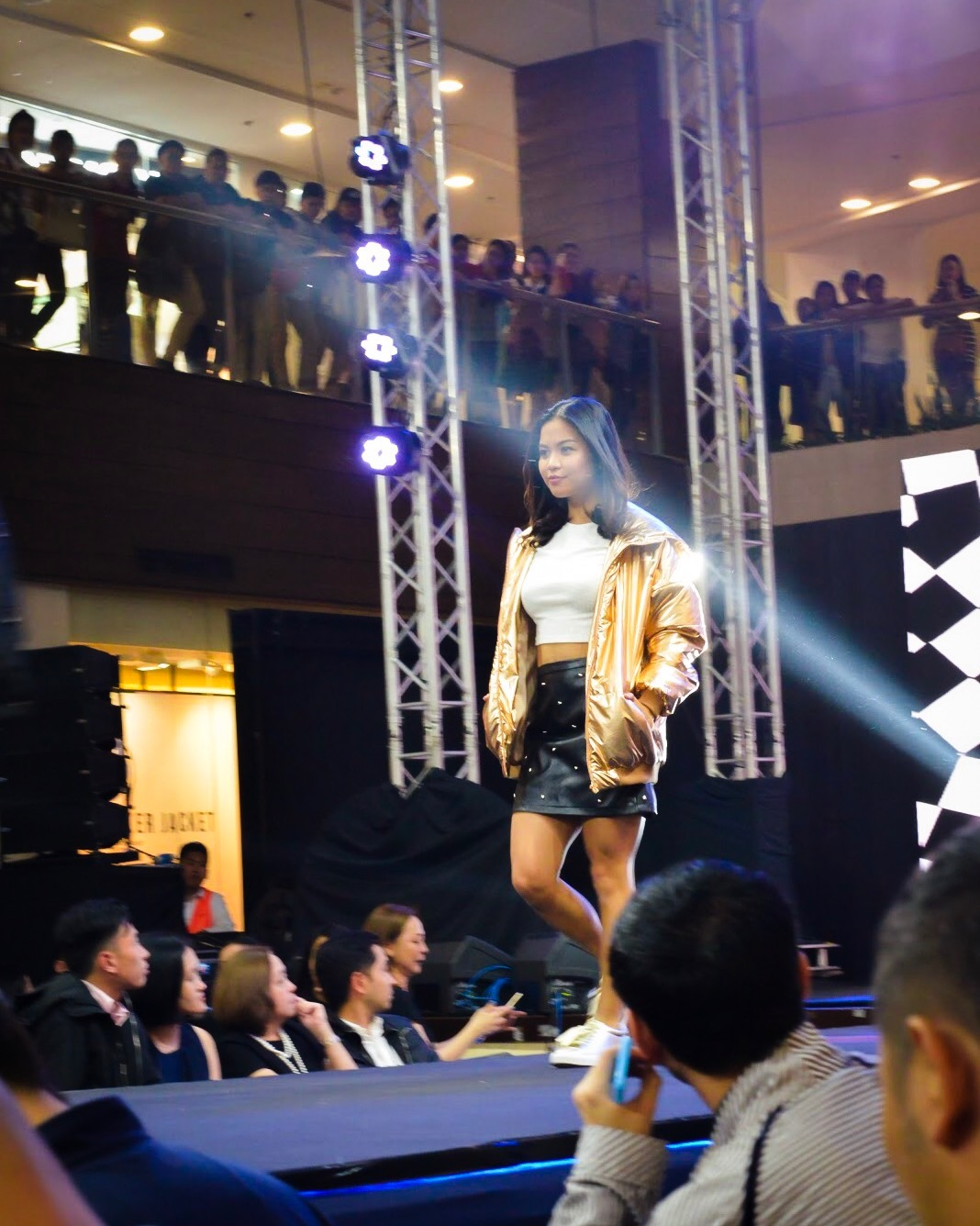 I was the only fitness blogger in a sea of fashion influencers. What an experience.