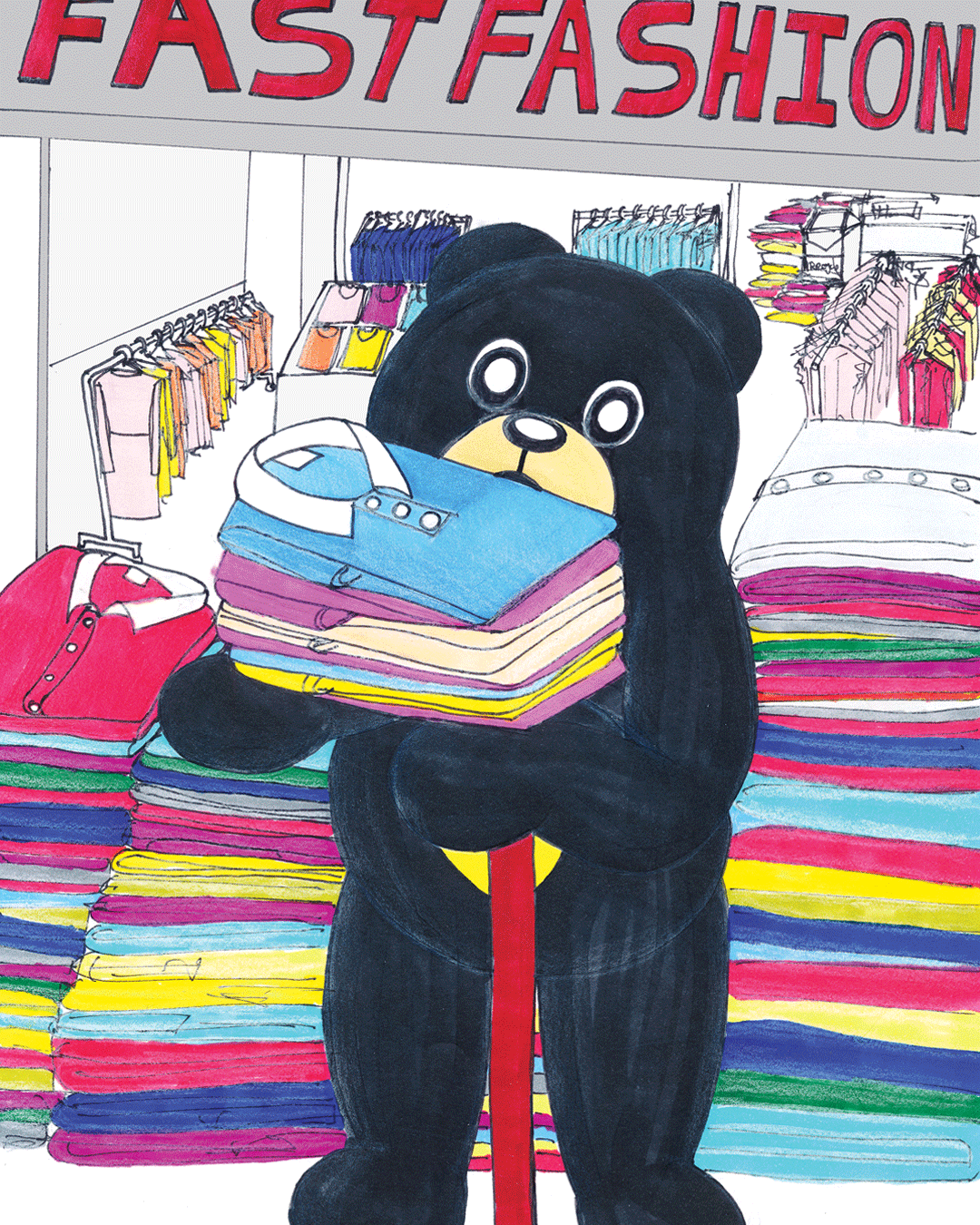 Sunbear Addresses Fast Fashion…   REFERENCE:  Liu, M. 2019, Sunbear Addresses Fast Fashion…theconversation.com, weblog, viewed 3 September 2019, < http://www.drmarkliu.com/sunbear >