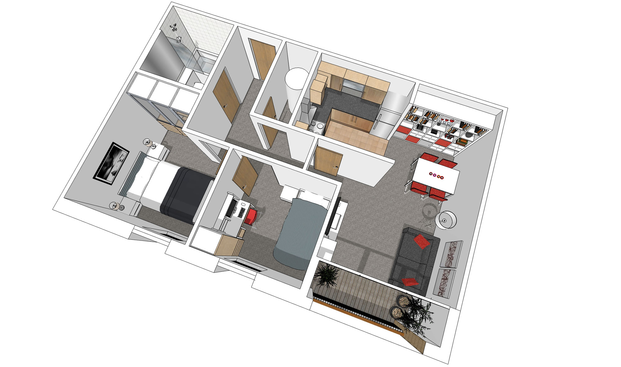 Apartment fit out overview
