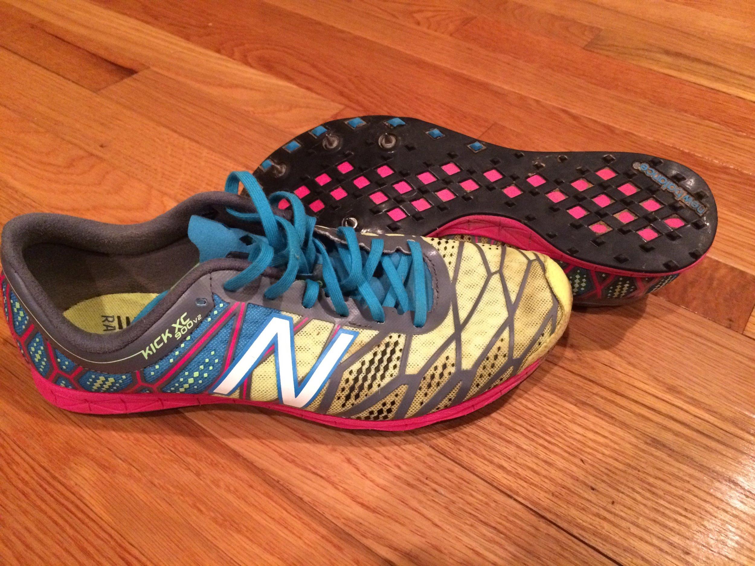 running shoes spikes running coach shelly Minnesota