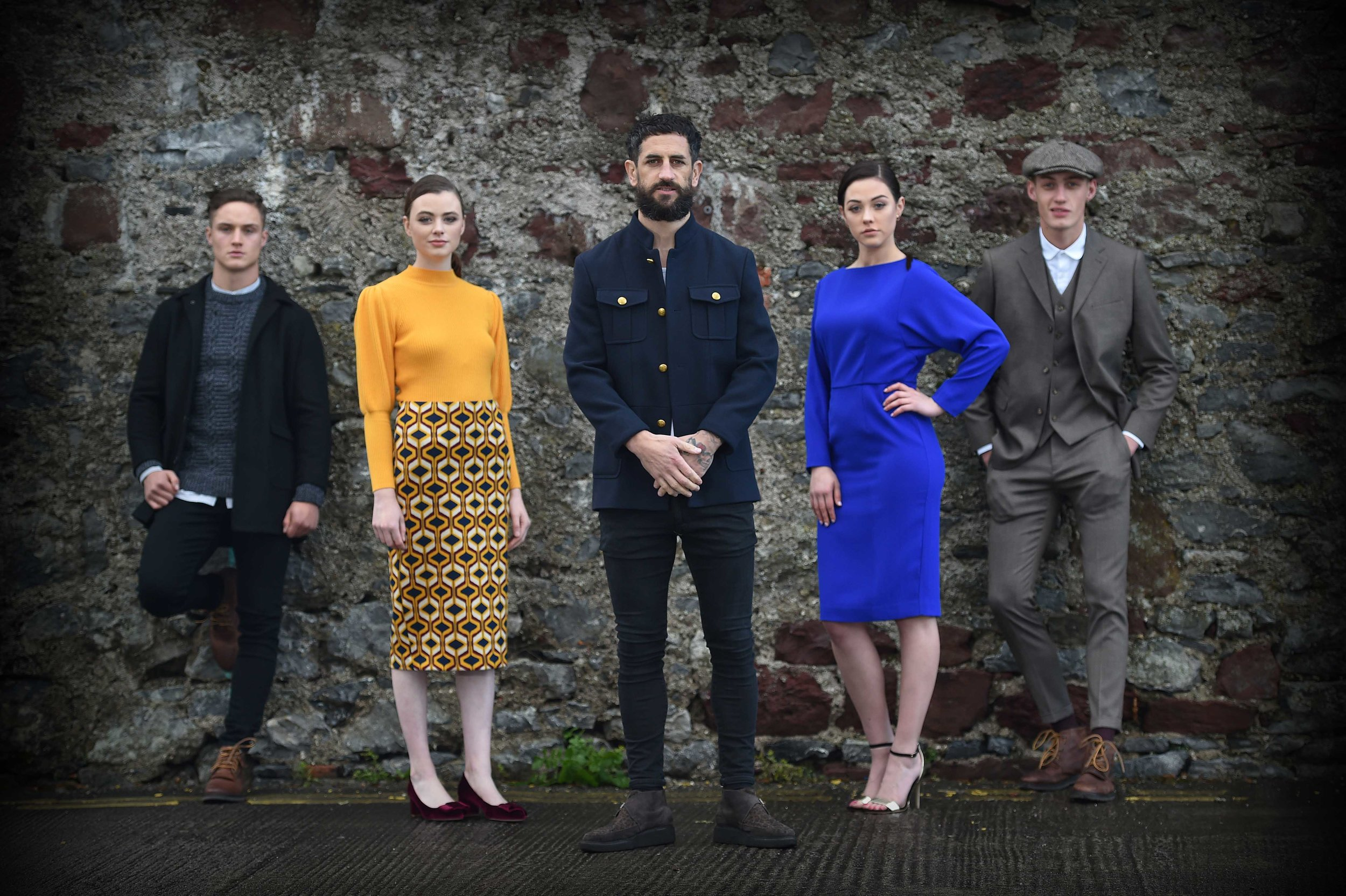 Paul Galvin A/W Shelby Collection launch - We produced the show to launch the new Paul Galvin Shelby collection A/W 17 in association with Dunnes Stores.