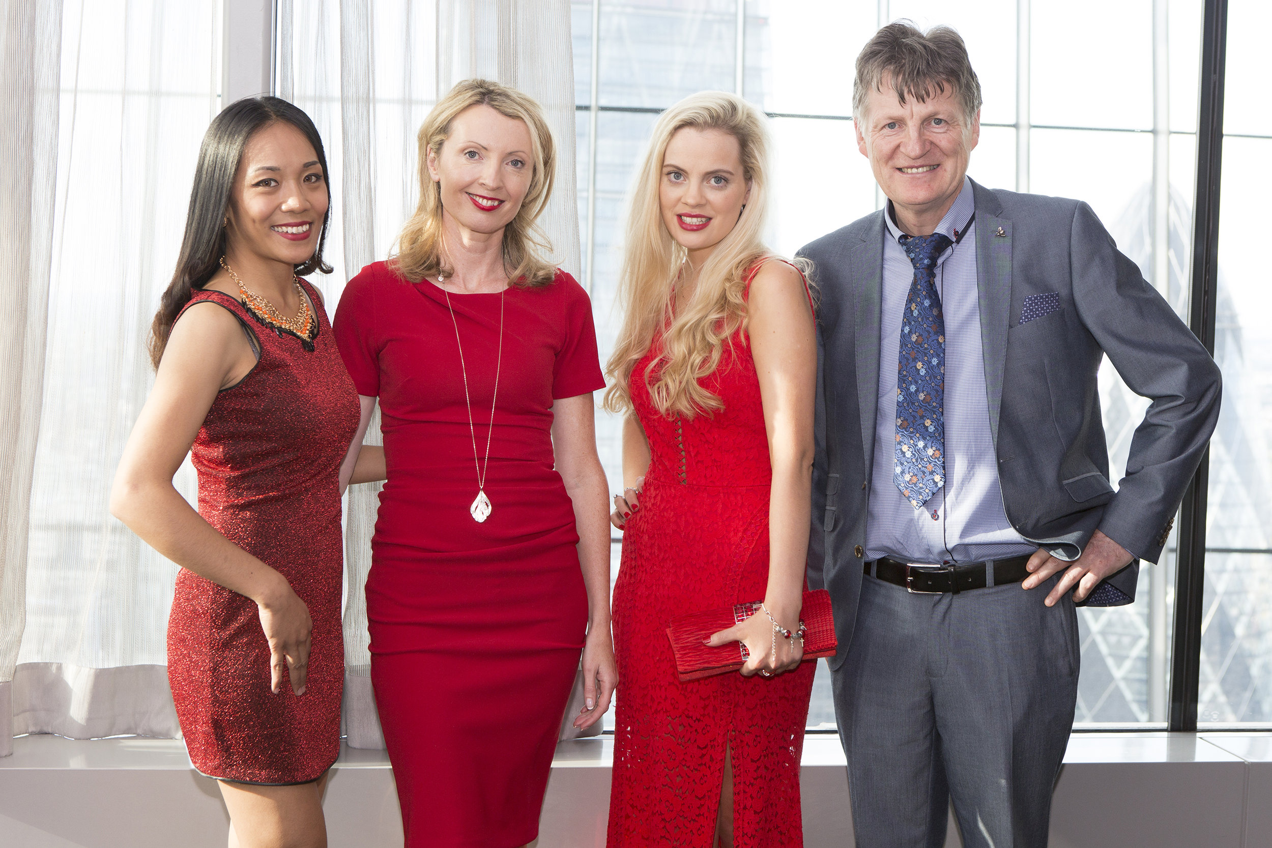 UK Launch of AMDR - We managed the launch in association with Emerge London of the world's first virtual online dressing room at a private media function in Sky Garden, London.