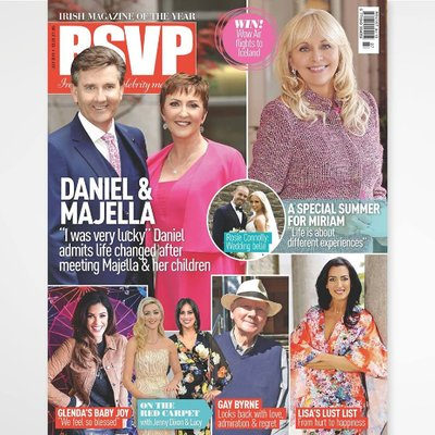 I styled the cover shoot for July RSVP Magazine with the wonderful Daniel & Majella O Donnell