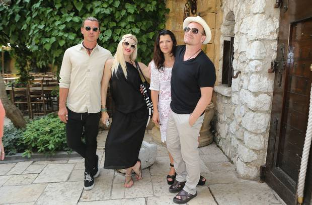Our very own Bono photographed here with his wife Ali and Gwen Stefani and Gavin Rossdale