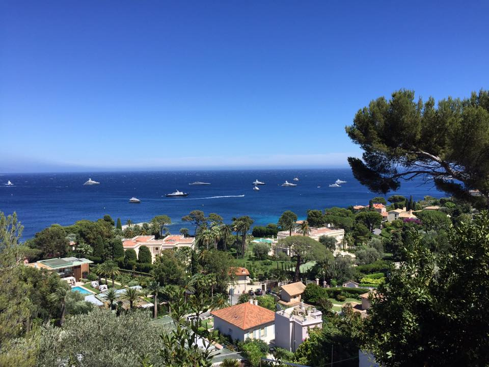 View from Cap Ferrat