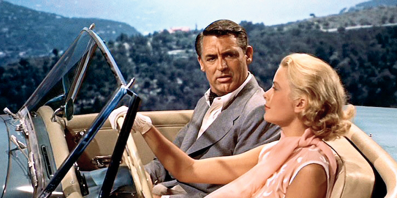 Grace Kelly and Cary Grant in Alfred Hitchcock's classic - 'To Catch a Thief'. You can still drive the rather perilous mountain roads between Nice and Monaco today - with exceptional views of the Riviera coastline