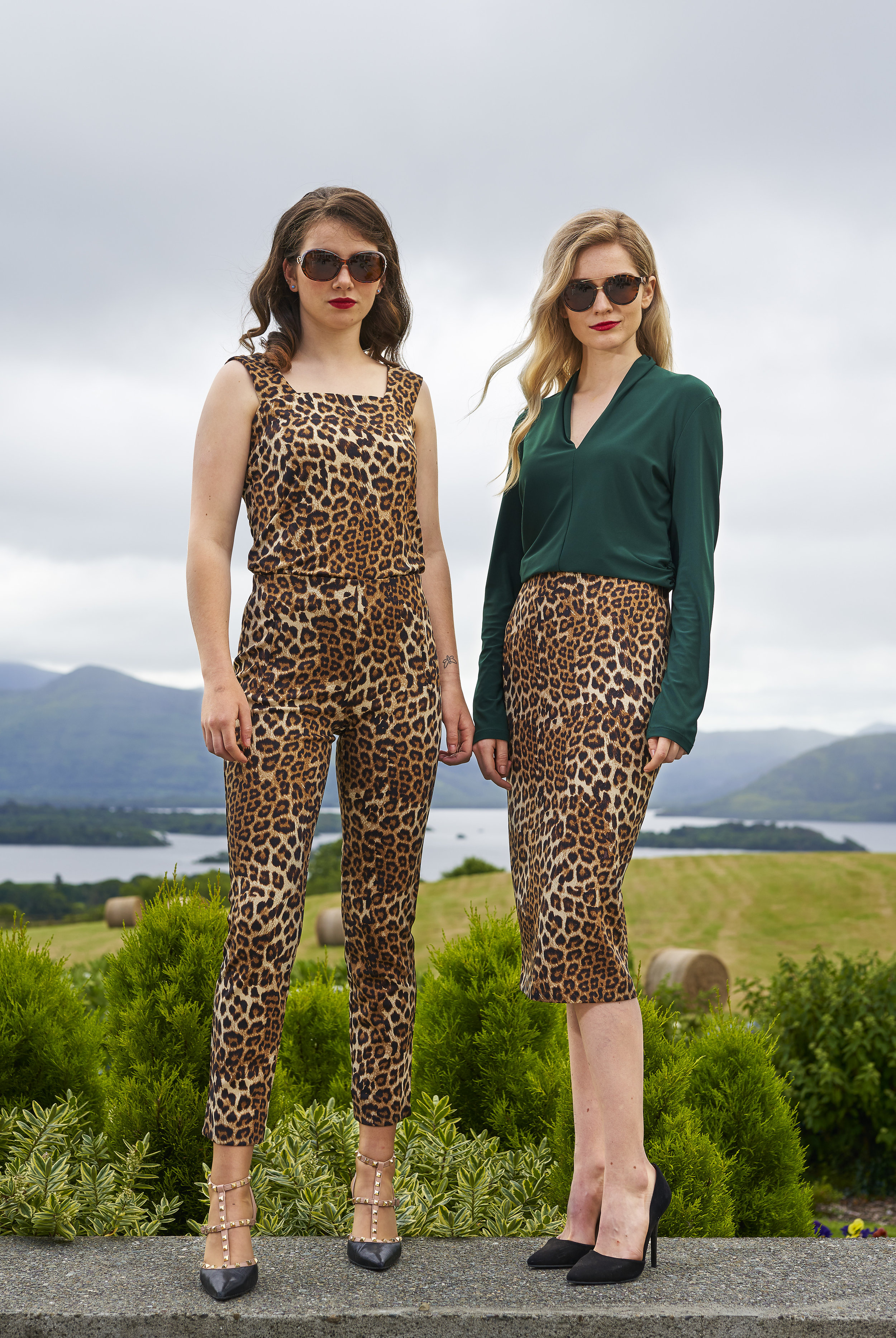 Animal prints are big news again this Fall. Sophie and Fiona model new in looks at Hannons of Castleisland styled by Orla Diffily. Photo credit: Barry Murphy