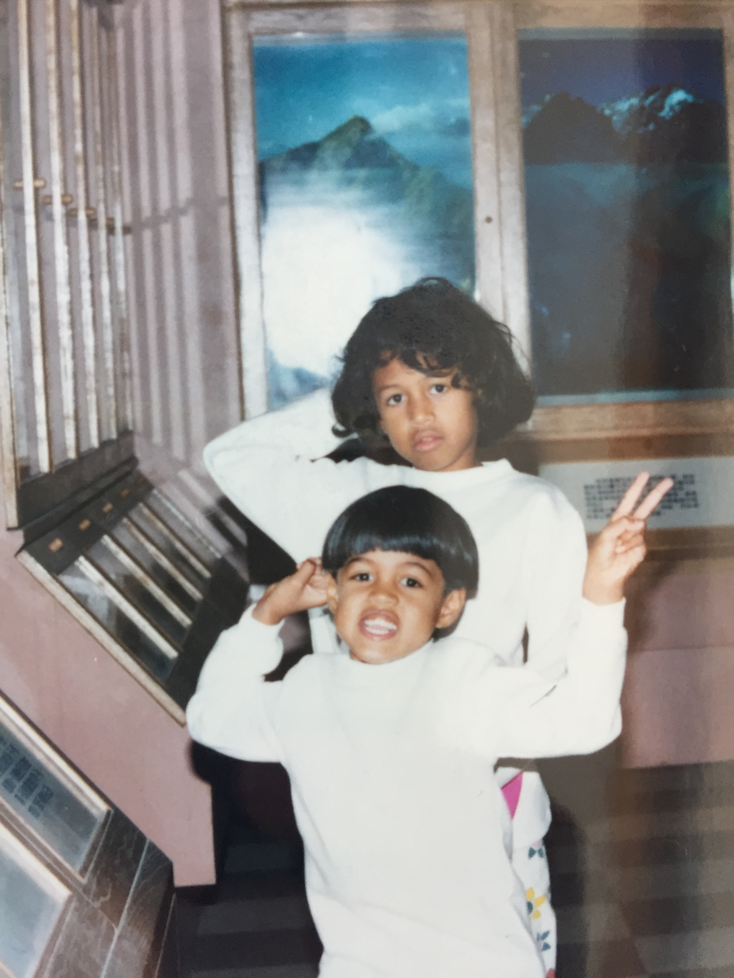 You can tell by the looks that we were 90's kids.