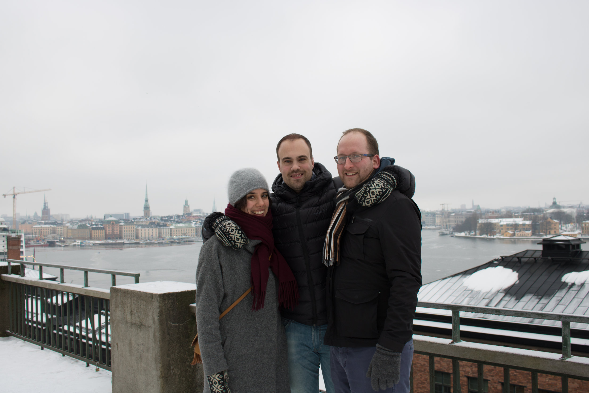 This was shot just above the  Fotografiska Museet  (photography museum)