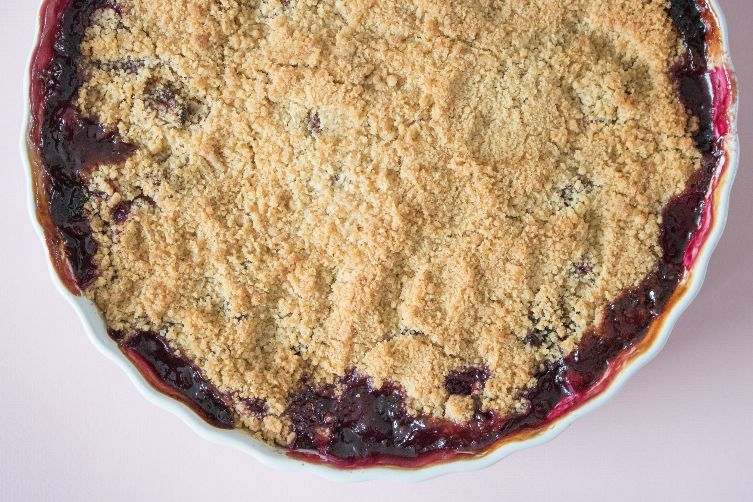 Summer Berry Crumble