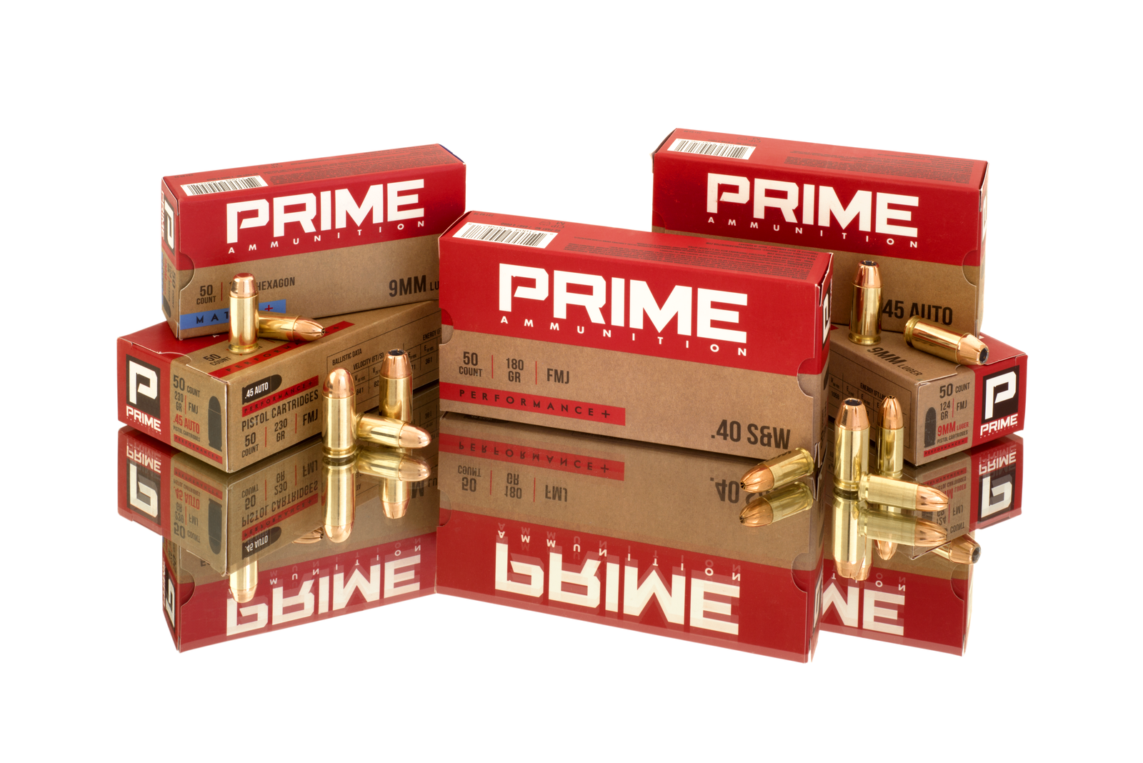 PRIME Ammunition Pistol selection!