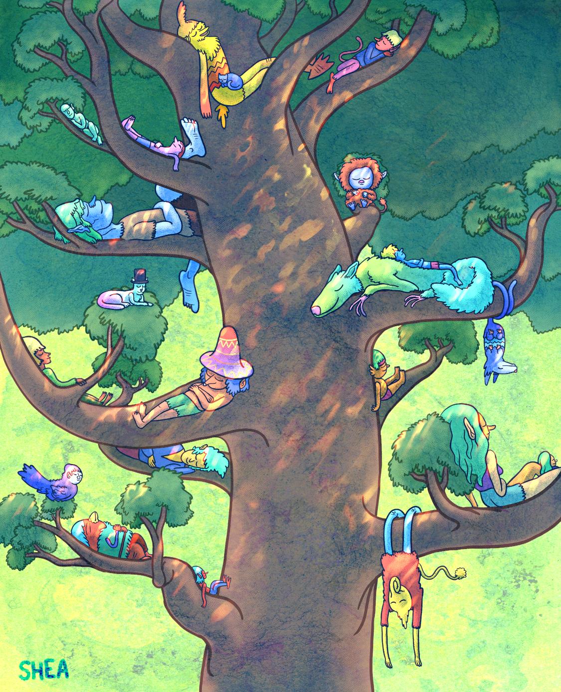 """""""Tree of Many Naps"""""""