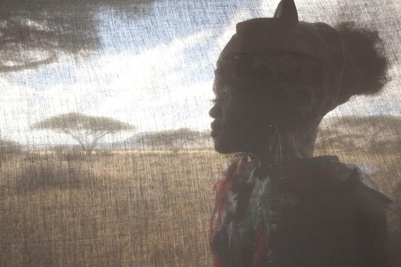 "Shoot for ""Fashion for Peace"" series , Samburu, Kenya"
