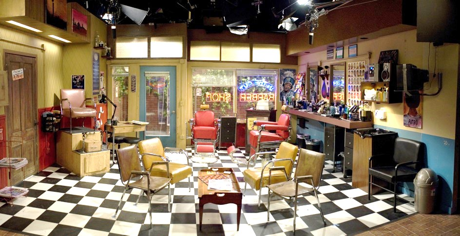 The Barbershop, from the Set of Tyler Perry's, House of Payne