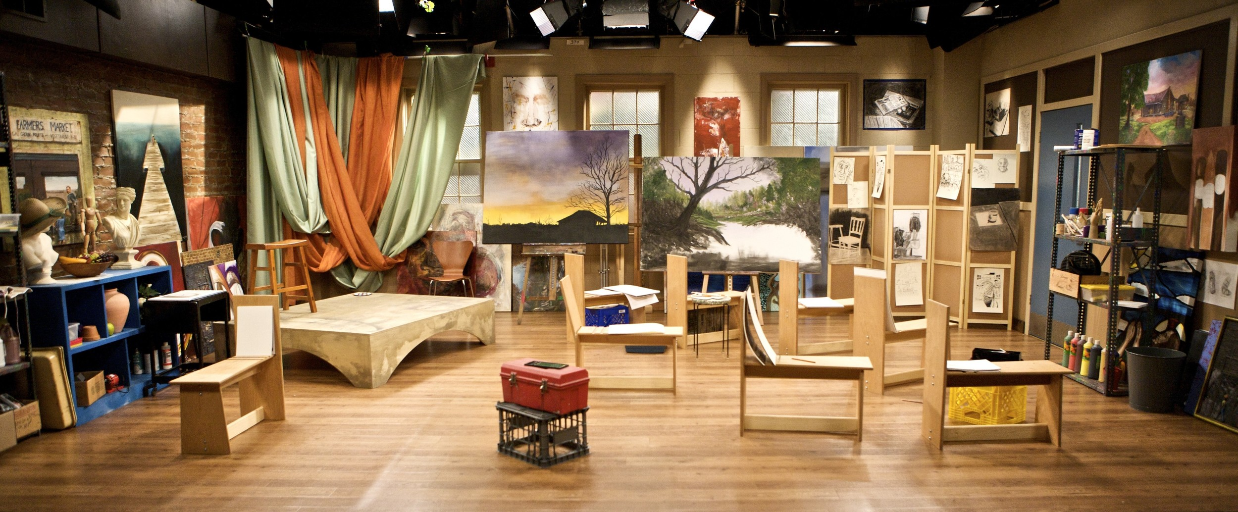 House of Payne, Art Studio Set