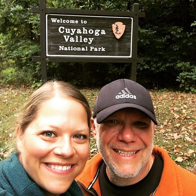 Our travels have taken us through Ohio quite often but we never took the time to explore Ohio's only national park, Cuyahoga Valley National Park. It was a day filled with Ohio history, nature, bike trails and water falls! It all added up to a pretty cool day! #seesimplelove #bestiebetsy #cuyahogavalleynationalpark #exploreohio #betsyloveswaterfalls #ohiosnationalpark #biketolearn