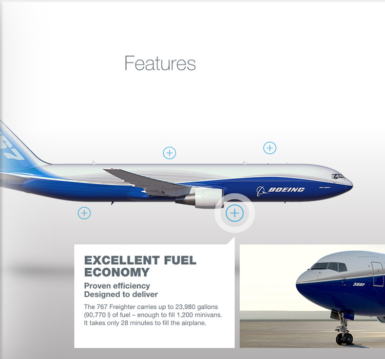 boeing 767 features