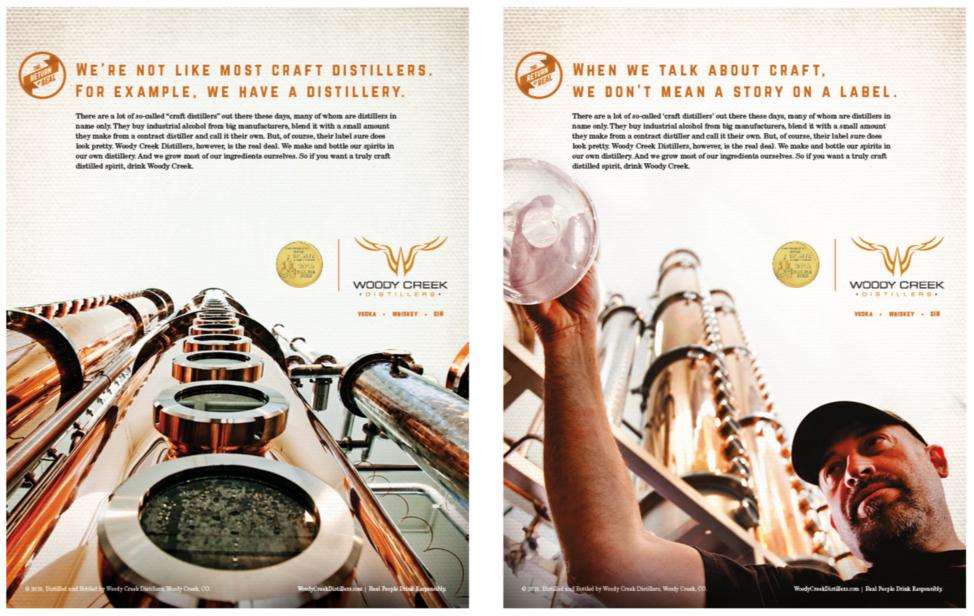 Woody Creek Print Ad