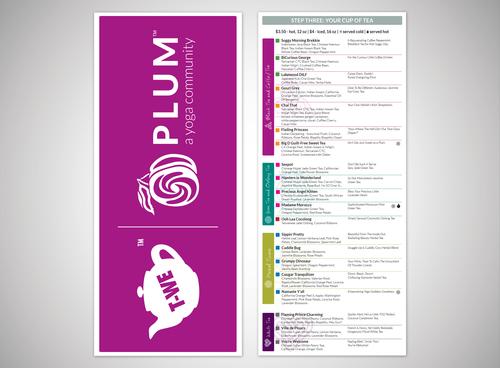 Plum and Greenlight menu