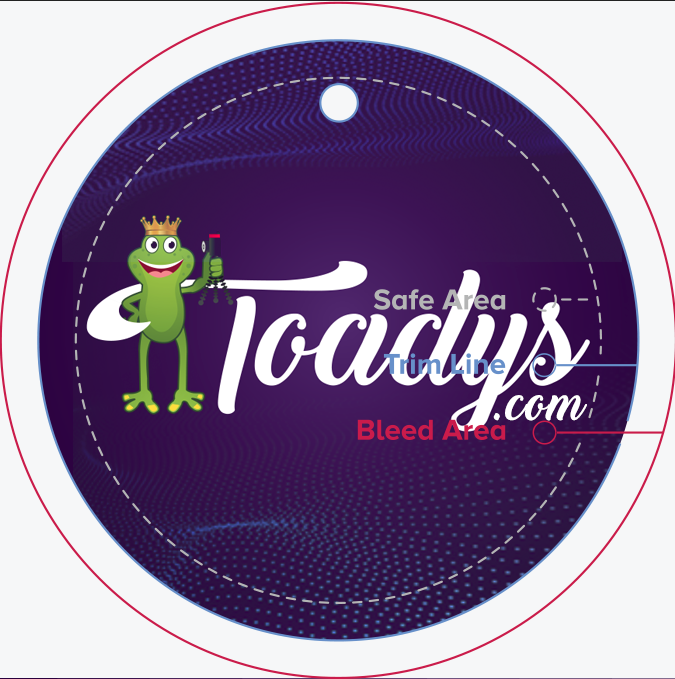 Toadys Sticker