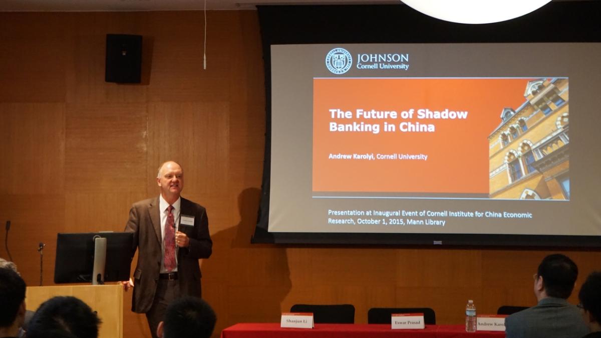 Panel Discussion : Professor Andrew Karolyi